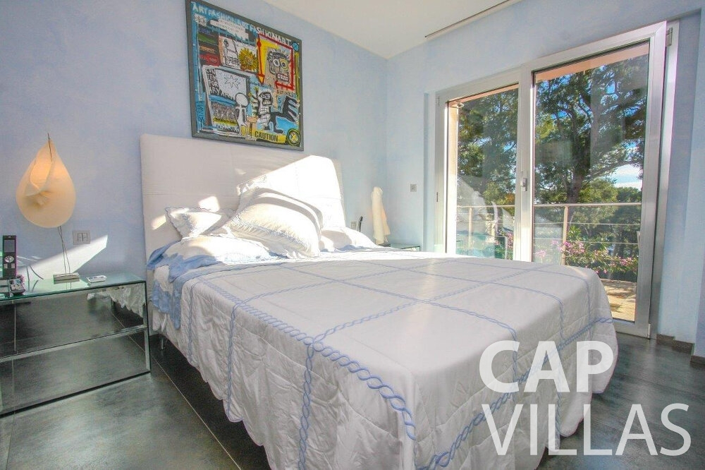 holiday rental Villa Dahlia cap ferrat bedroom