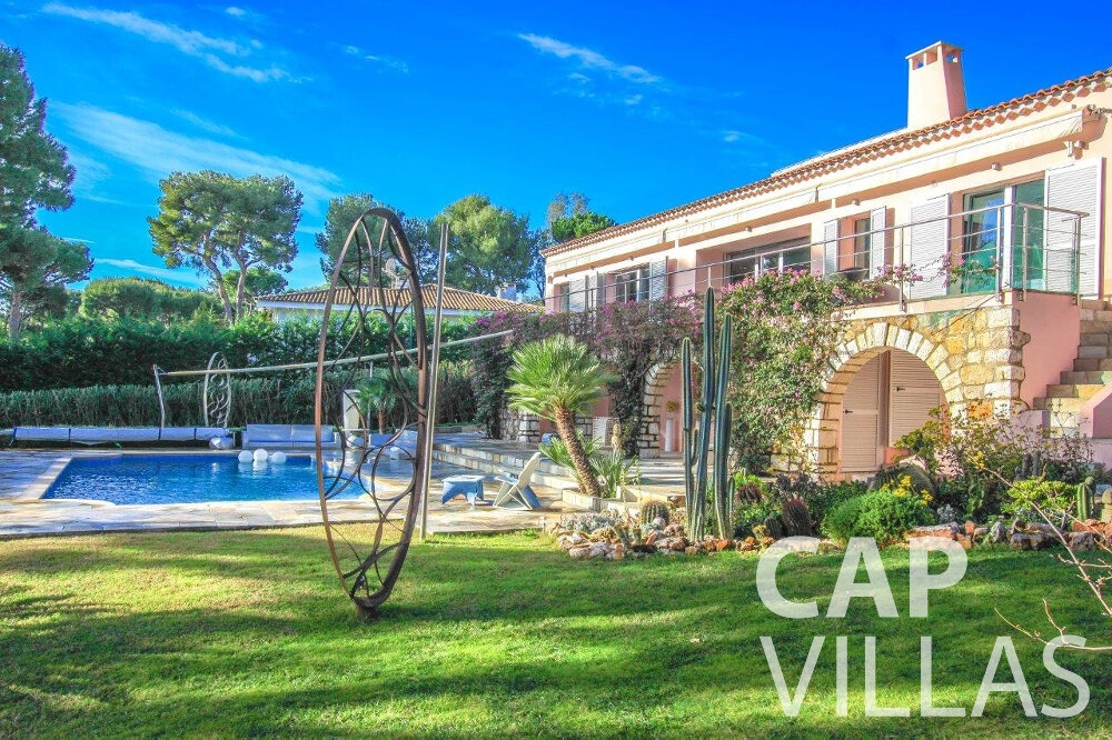 holiday rental Villa Dahlia cap ferrat property