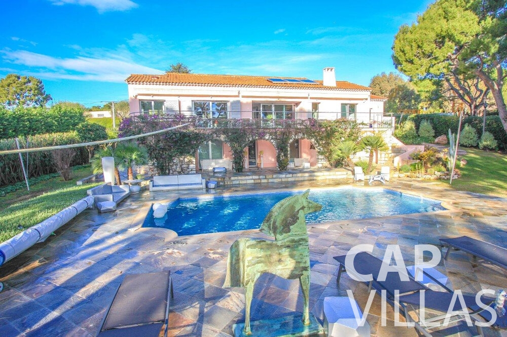 let Villa Dahlia cap ferrat property