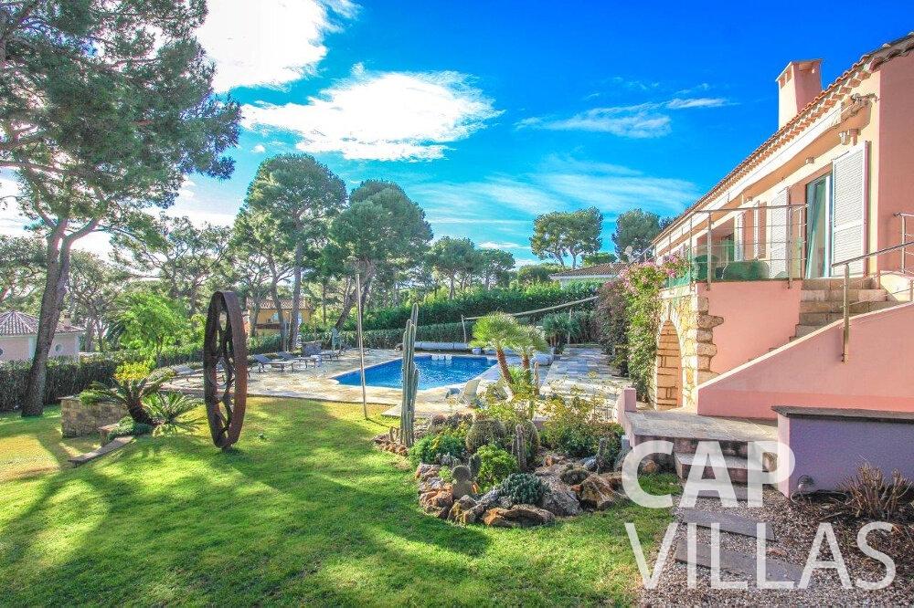 rent Villa Dahlia cap ferrat garden
