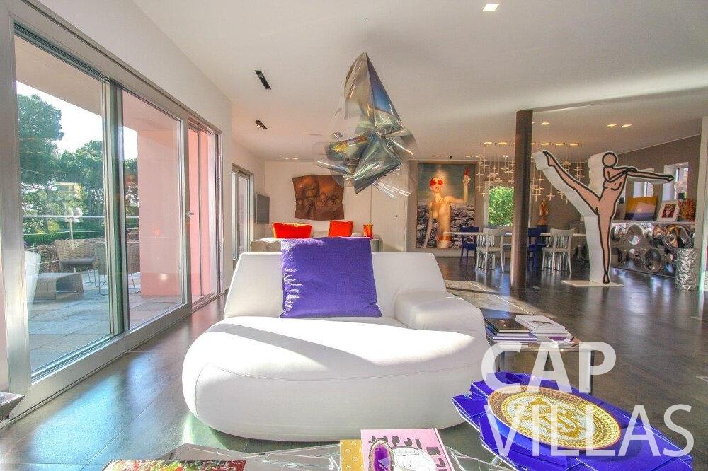 rent Villa Dahlia cap ferrat guest room
