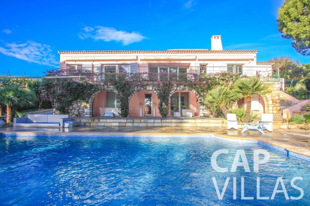 rent Villa Dahlia cap ferrat property