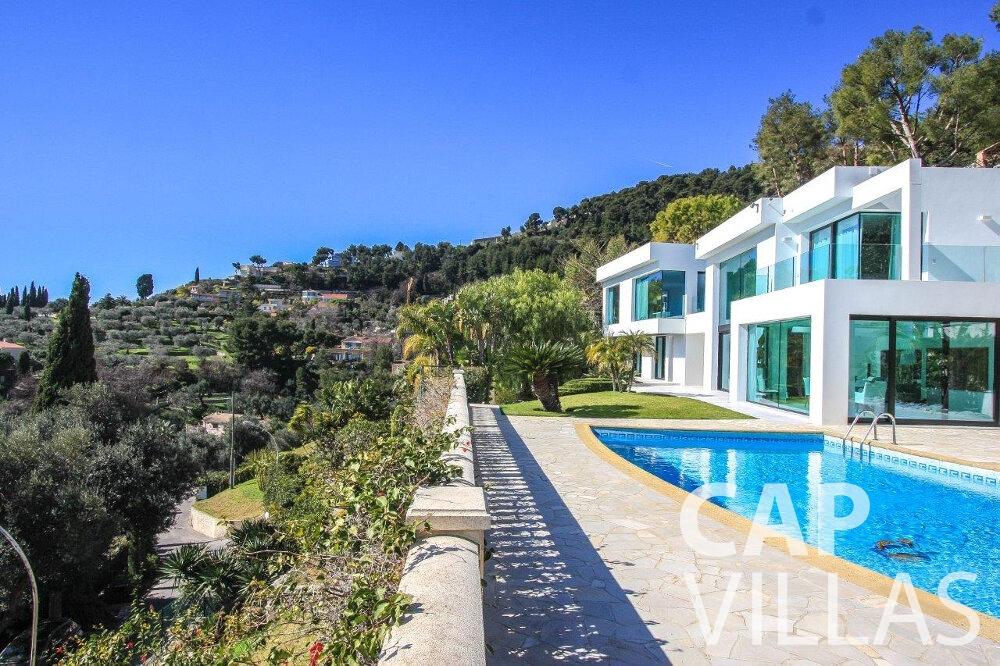 holiday rental Villa Flora cap martin roquebrune property