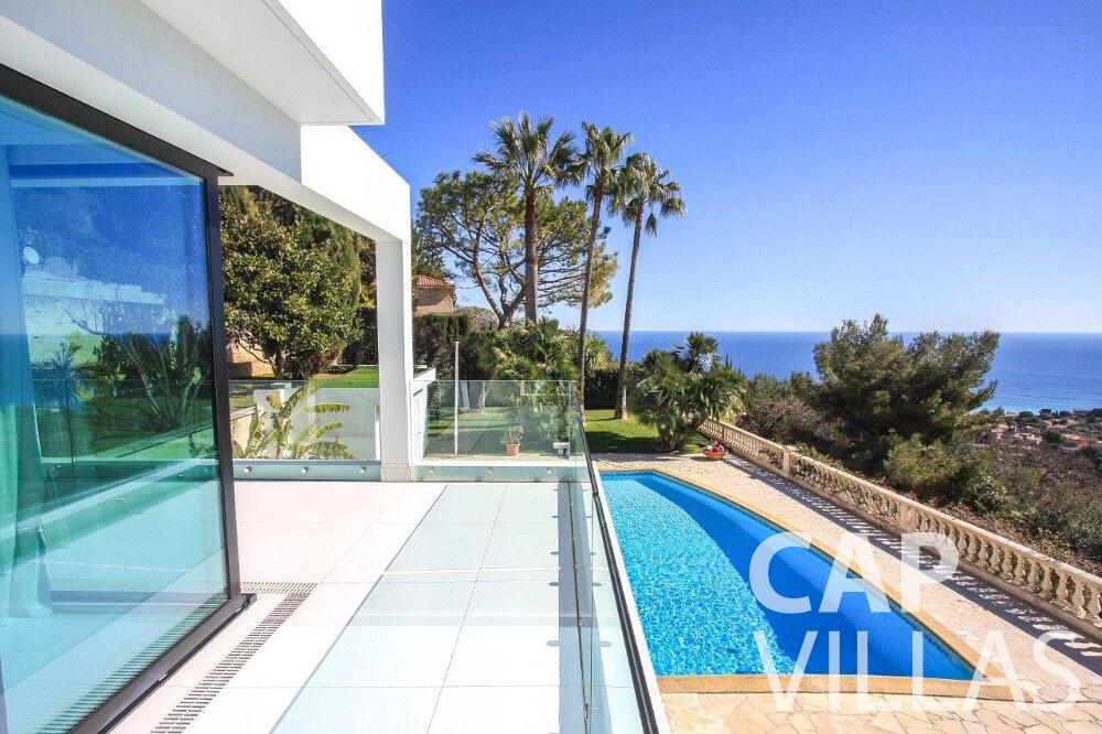 rent Villa Flora cap martin roquebrune balcony