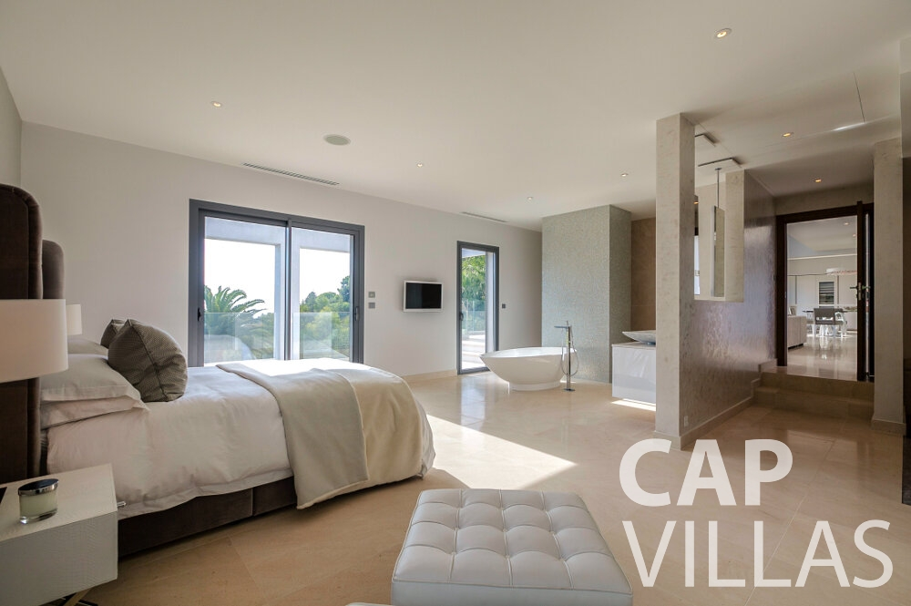 holiday rental Villa Rose villefranche bedroom