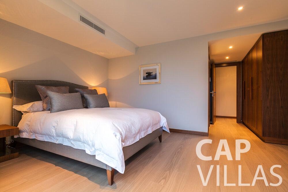 rent Villa Rose villefranche bedroom