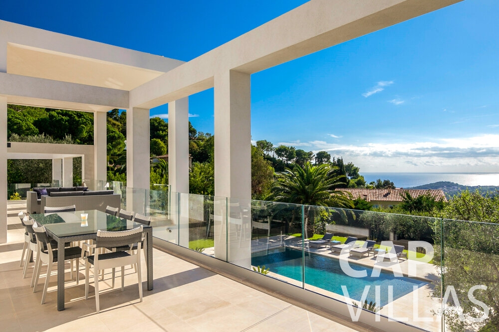 rent Villa Rose villefranche terrace