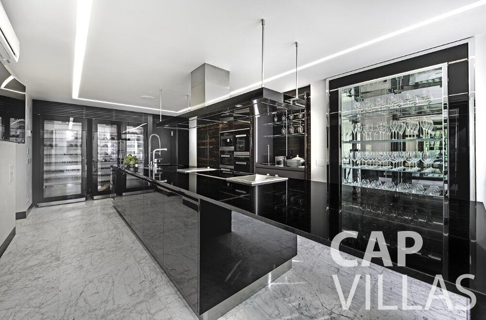 villa for sale cap dail luxury kitchen
