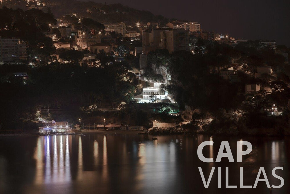 villa for sale cap dail nighttime view
