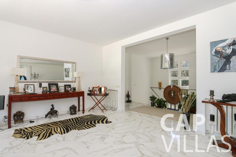 holiday rental Villa Saffron cap martin roquebrune office room