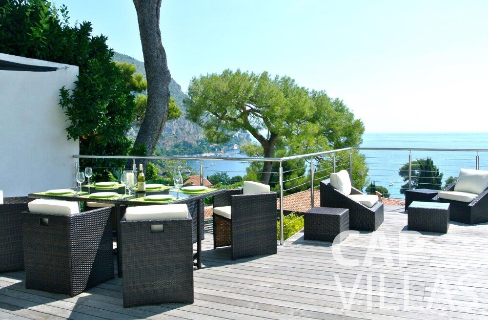 holiday house for sale eze al fresco terrace view
