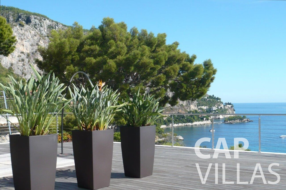 villa for sale eze seaview terrace