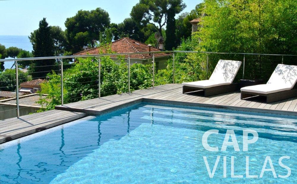 villa for sale eze swimming pool