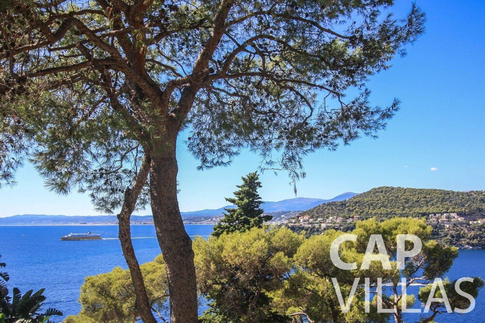 let Villa Bluebell cap ferrat sea view