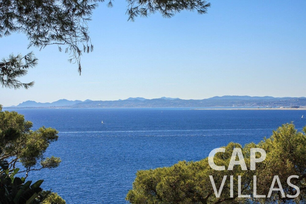 rent Villa Bluebell cap ferrat sea view