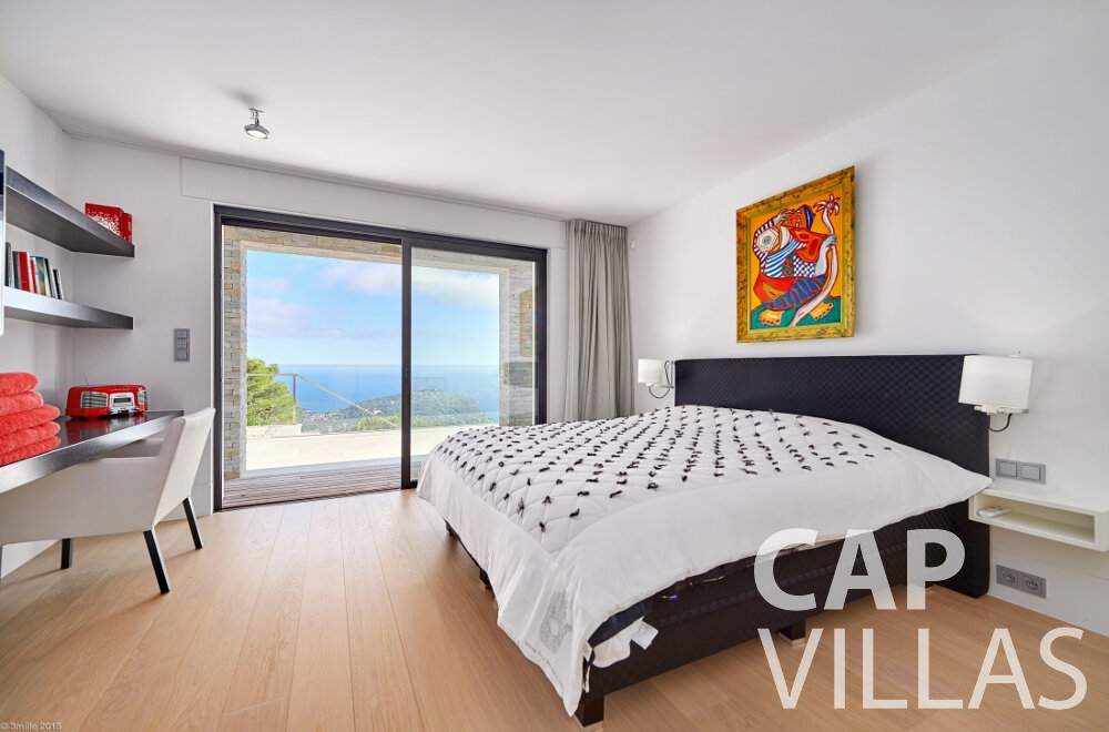 rent Villa Oleander villefranche bedroom