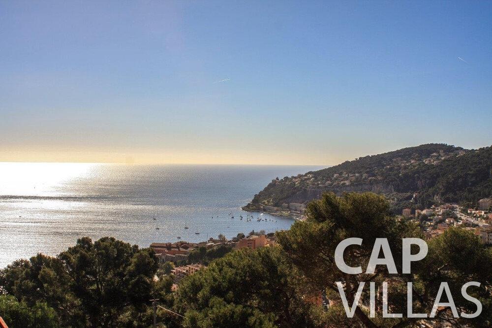 let Villa Hazel cap martin roquebrune sea view