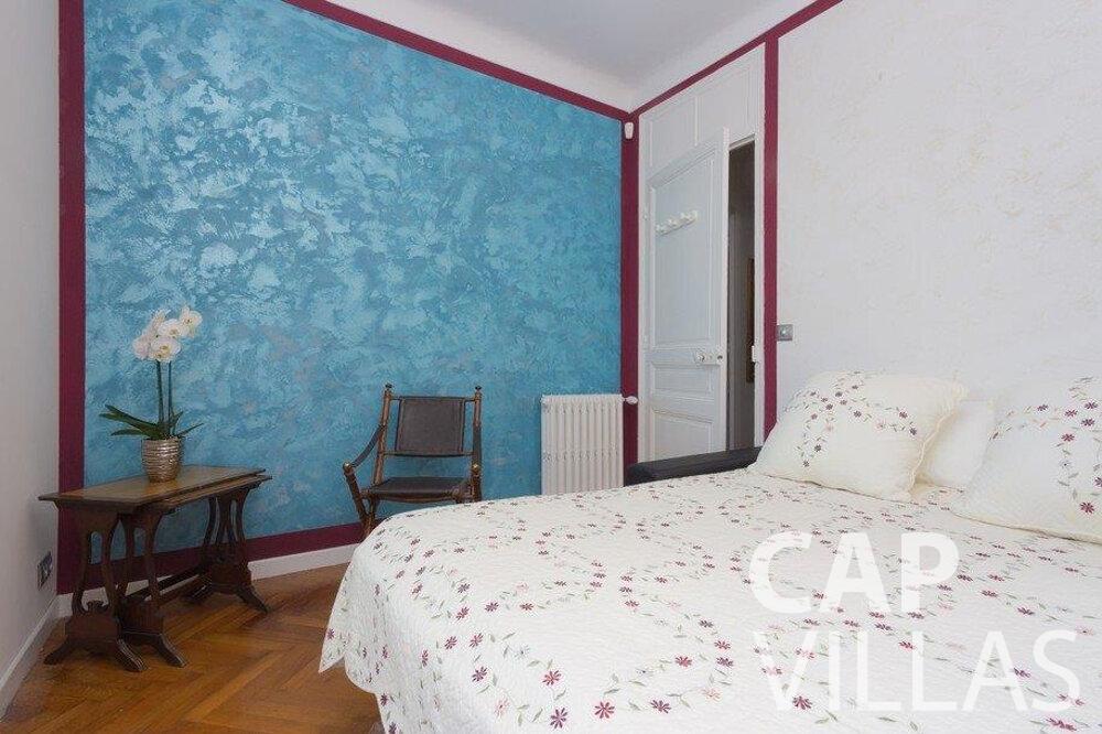 rent Villa Hazel cap martin roquebrune bedroom