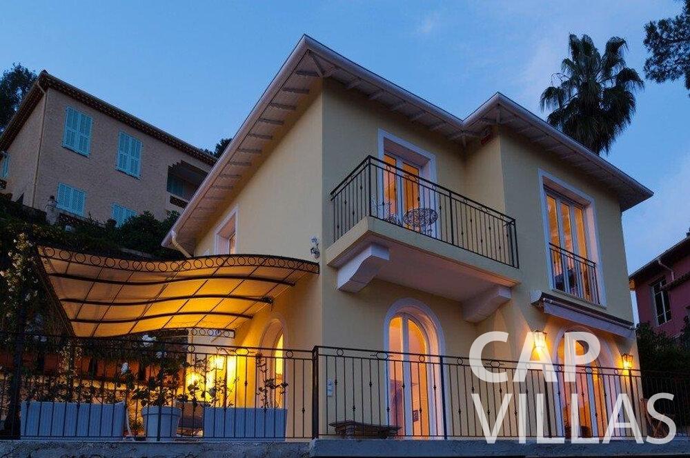 rent Villa Hazel cap martin roquebrune property