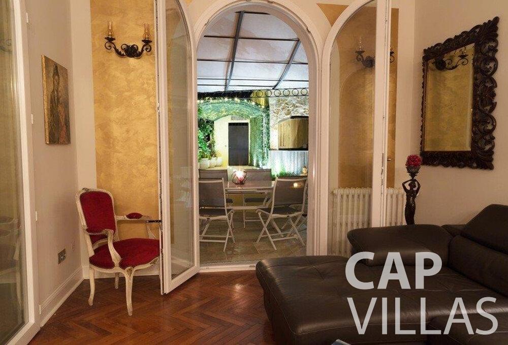 rent Villa Hazel cap martin roquebrune room