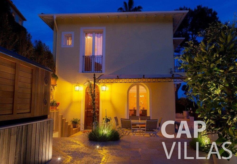 rent Villa Hazel cap martin roquebrunet terrace