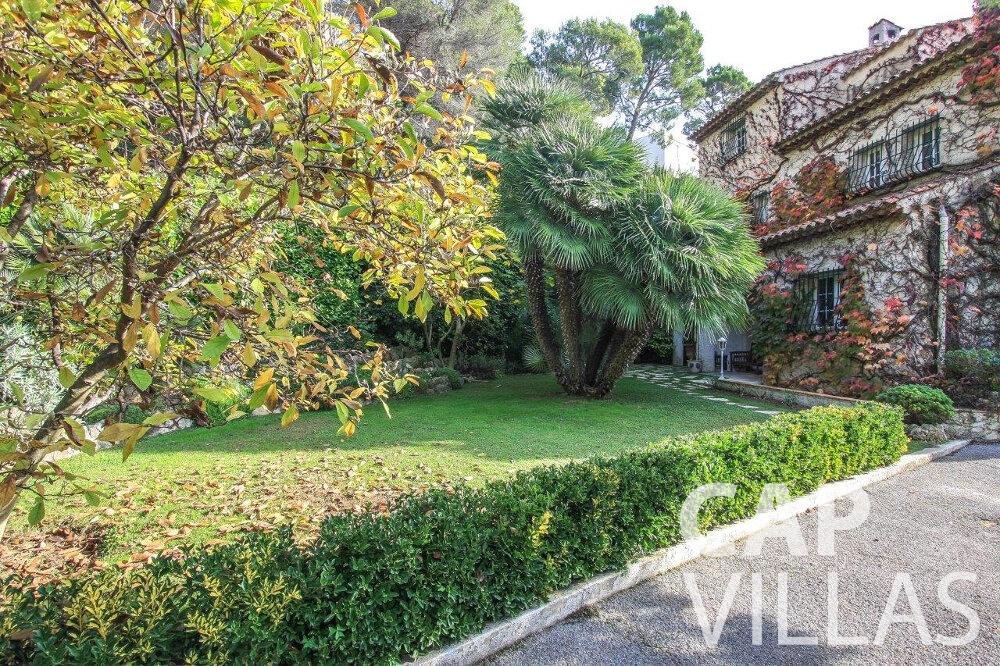 let Villa Protea villefranche terrace
