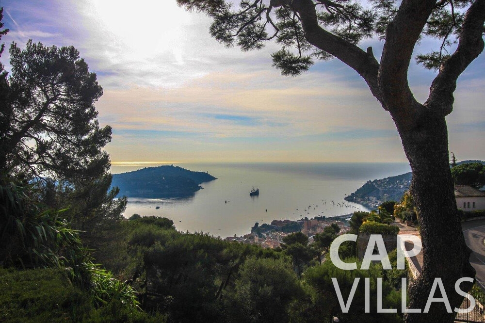 rent Villa Protea villefranche sea view