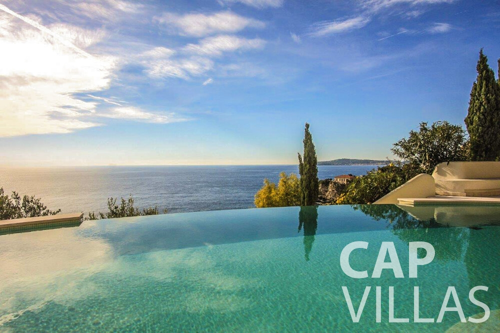 holiday house for sale cap dail infinity swimming pool panoramic sea view