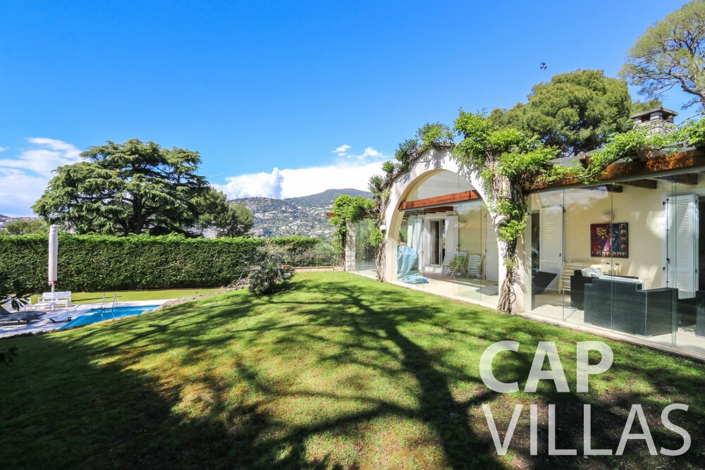 property for sale cap ferrat terrace view