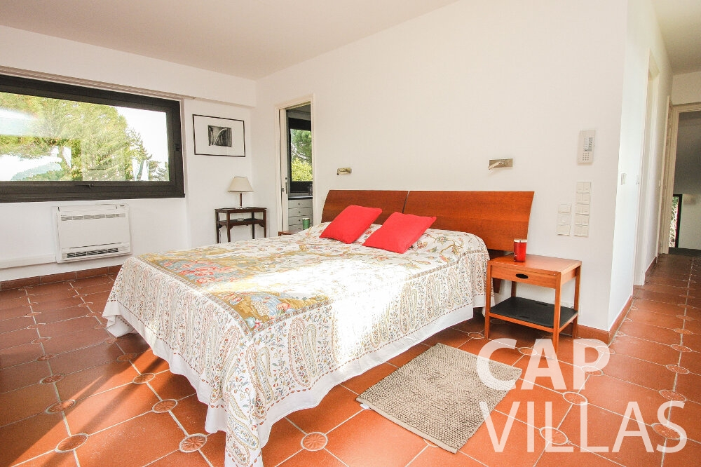 holiday rental Villa Cedar cap martin roquebrune bedroom
