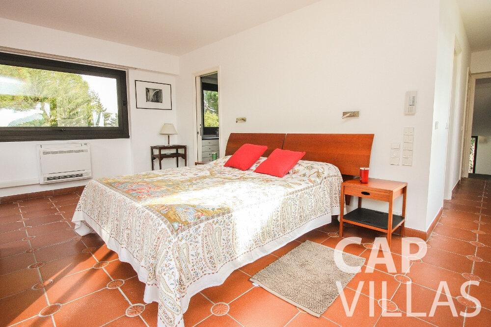 holiday rental Villa Cedar cap martin roquebrune bedroom