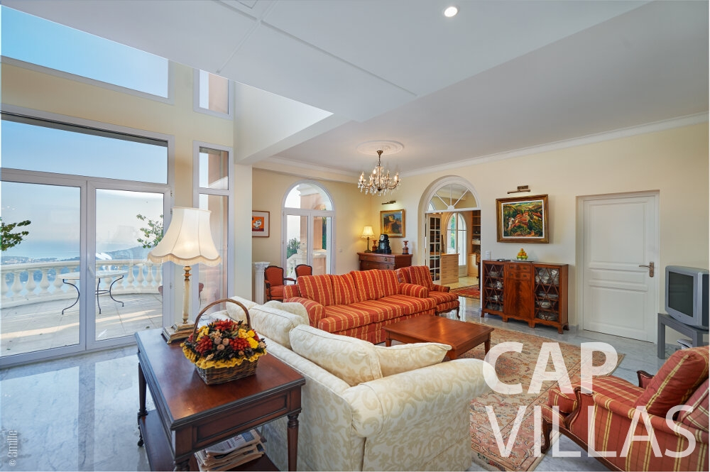holiday house for sale villefranche living room interior