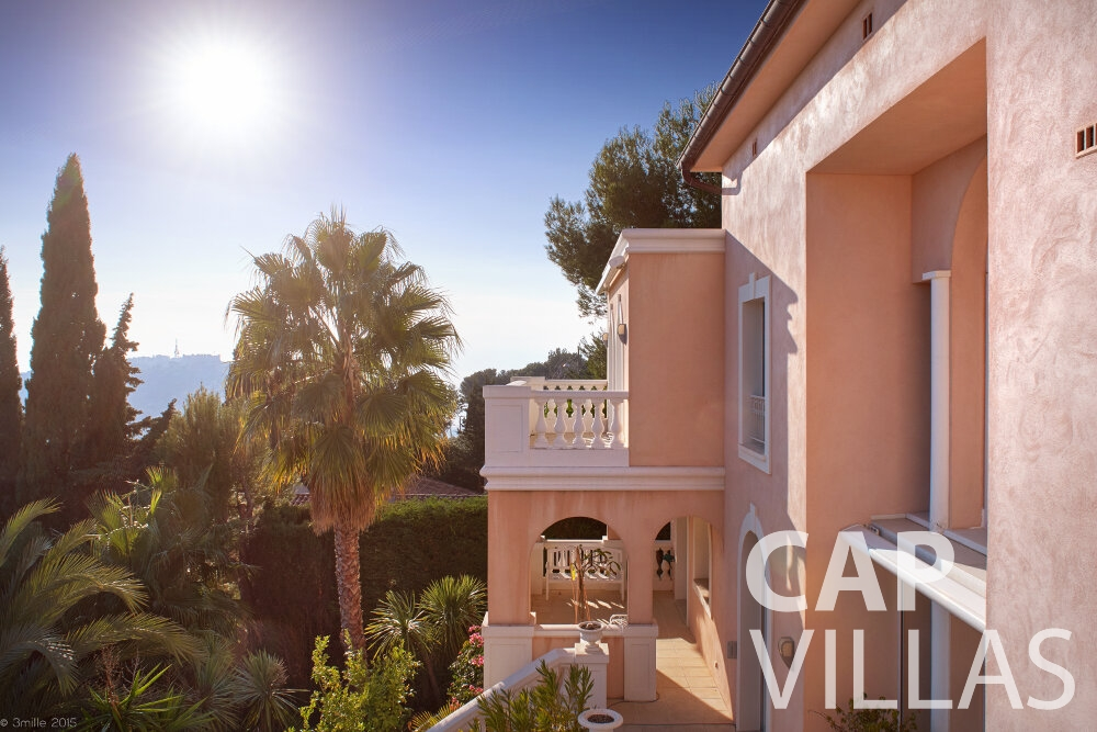villa for sale villefranche luxury villa facade