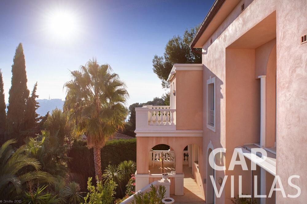 villa for sale villefranche luxury villa facade