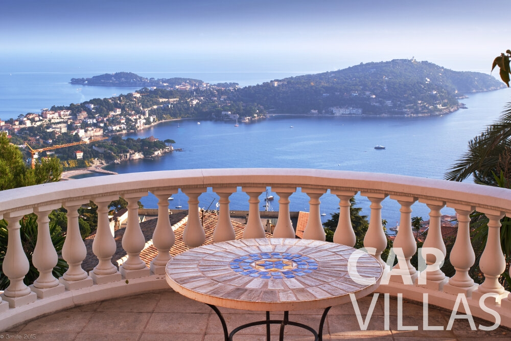 villa for sale villefranche panoramic view