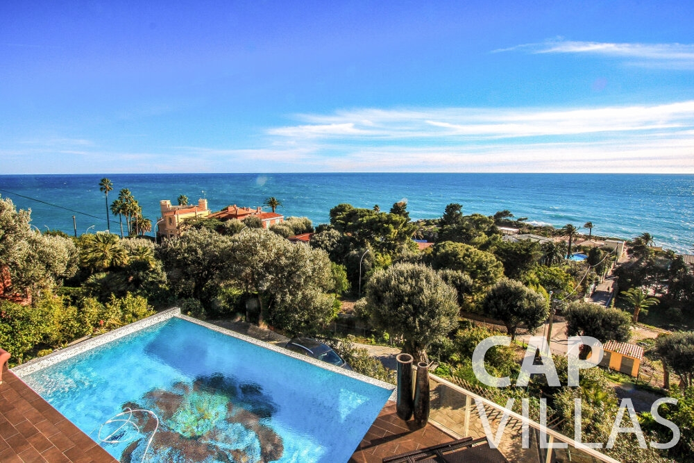 let Villa Cherry cap dail pool sea view