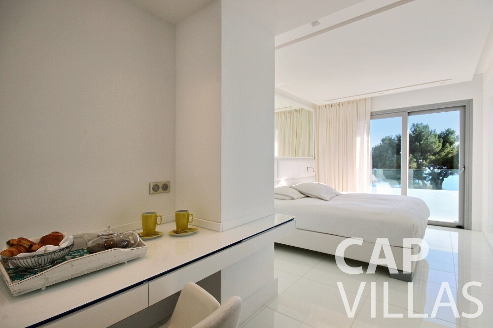 holiday rental Villa Calla eze bedroom