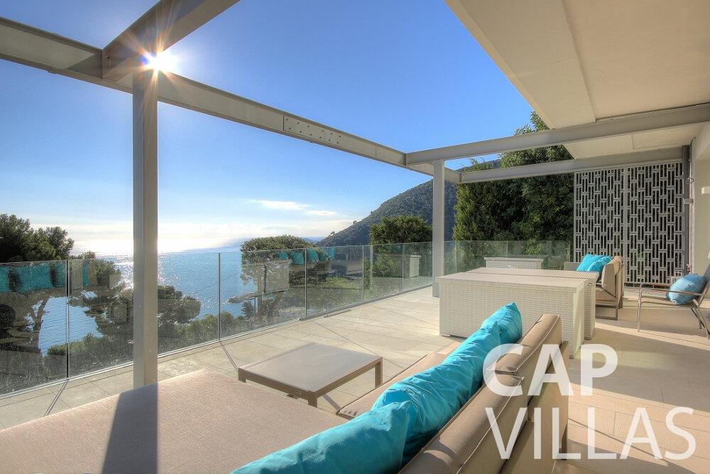 let Villa Calla eze terrace