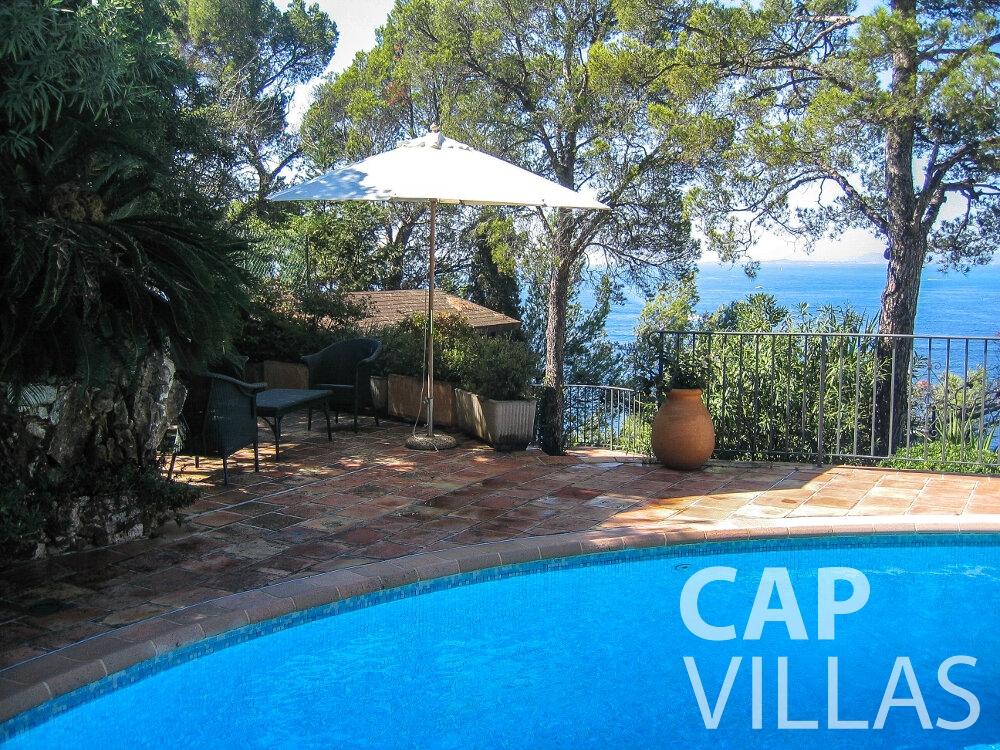 holiday rental Villa Verbena cap ferrat swimming pool