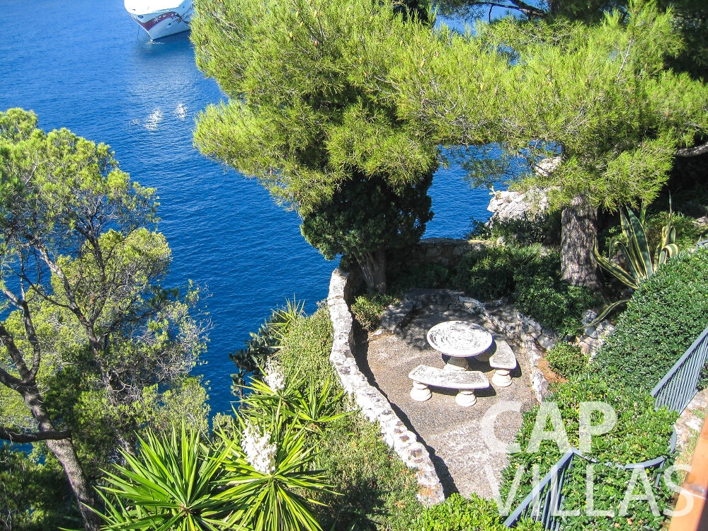 let Villa Verbena cap ferrat sea view