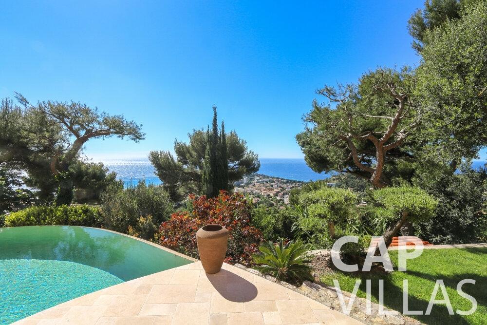 villa for sale cap martin sea view