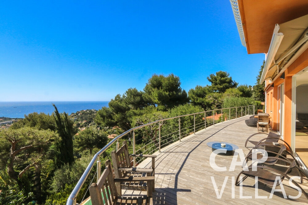 villa for sale cap martin terrace