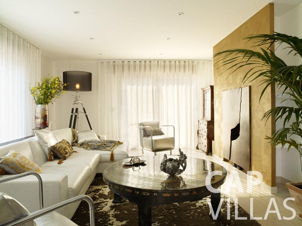 rent Villa Willow cap dail living room