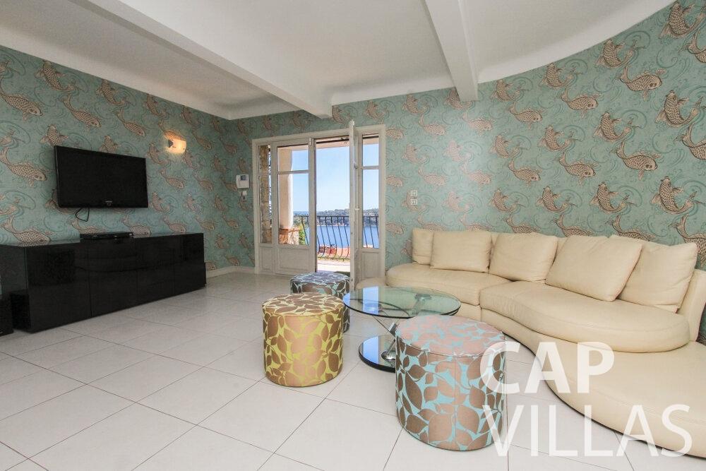 holiday rental Villa Sunflower villefranche living area