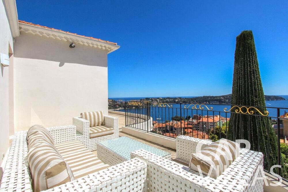 let Villa Sunflower villefranche terrace