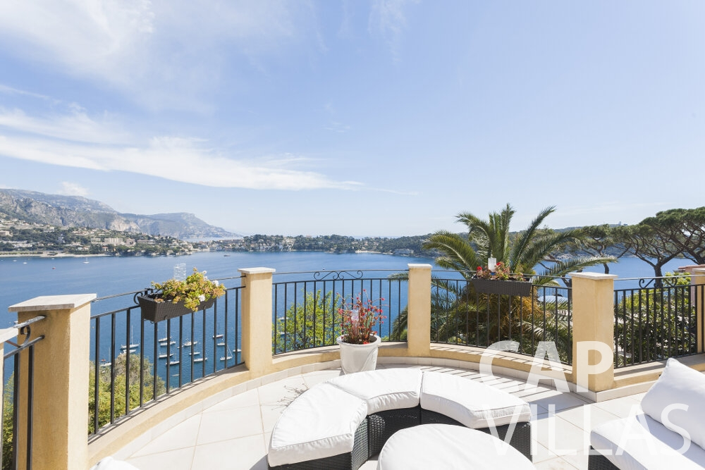 property for sale villefranche terrace sea view