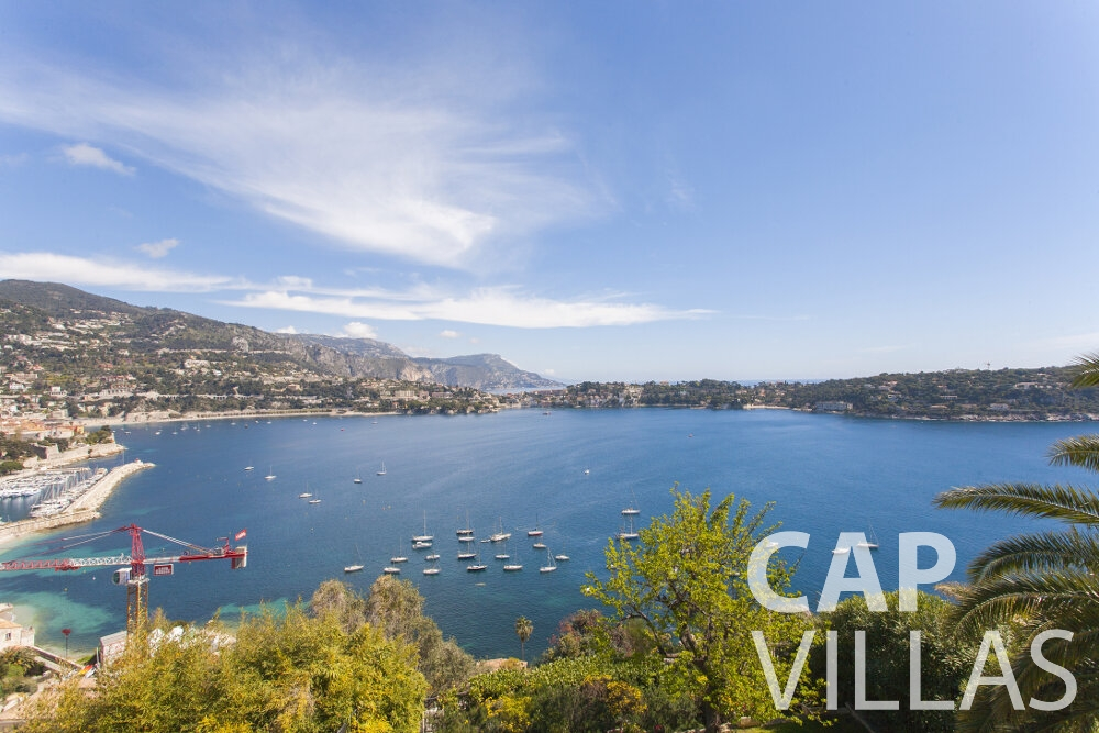 villa for sale villefranche sea view