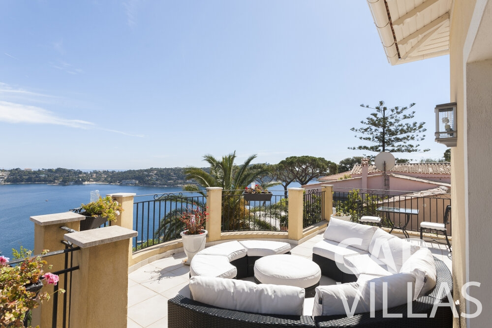 villa for sale villefranche terrace