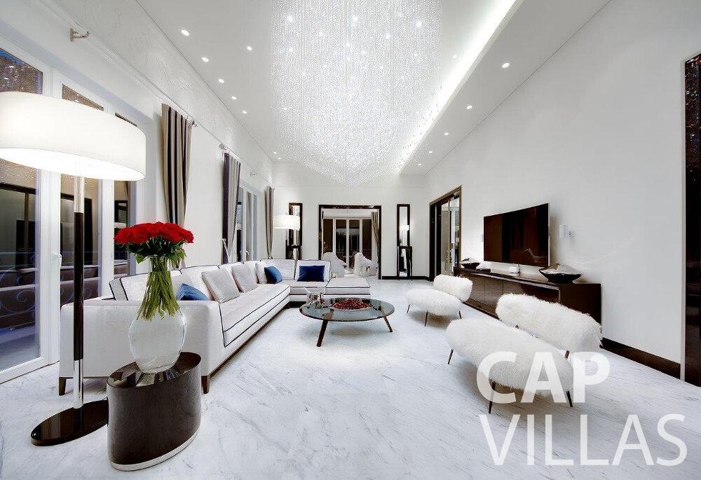 rent Villa Anemone cap dail living room