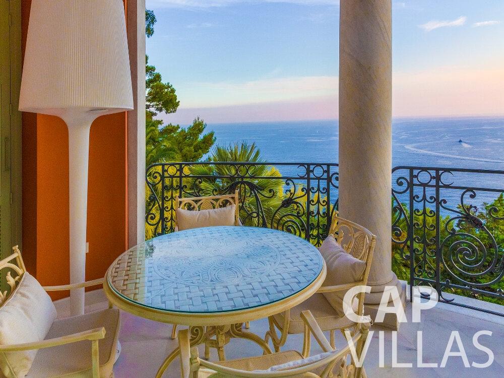 rent Villa Crocus cap martin roquebrune terrace